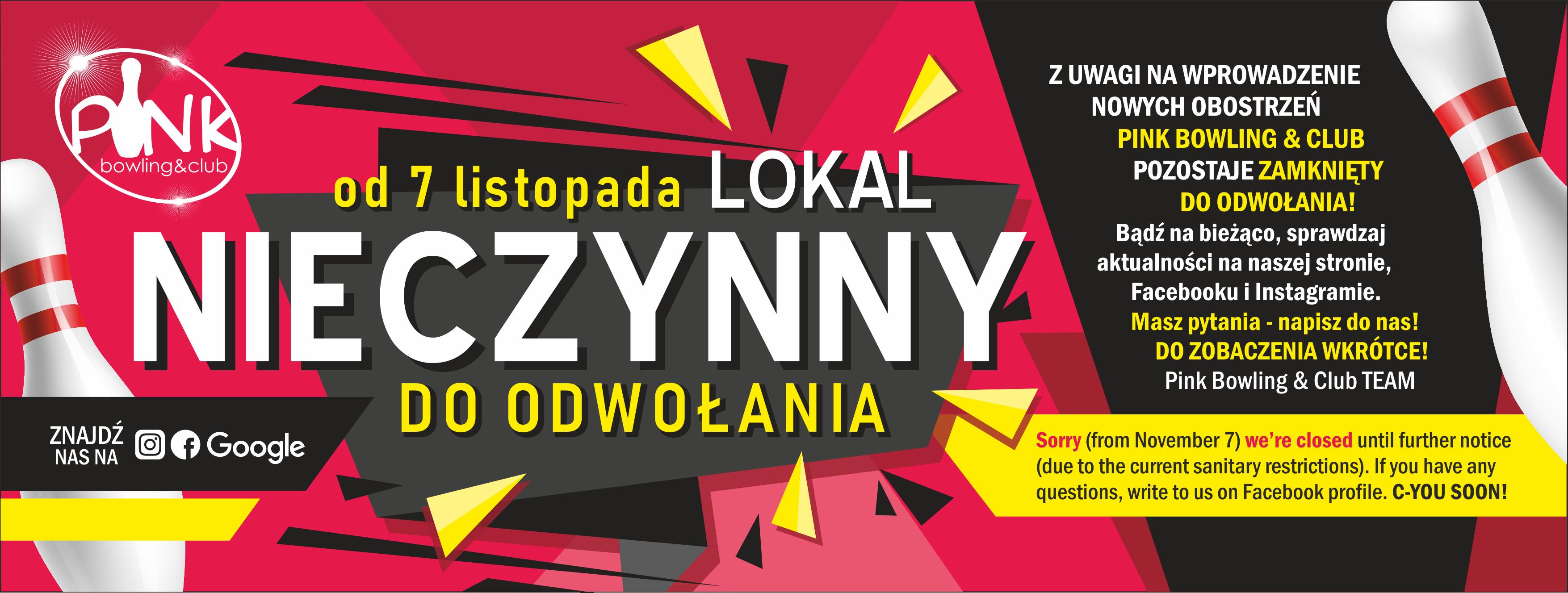 pink_bowling_club_krakow_close_zamknięte_covid19_lockdown3