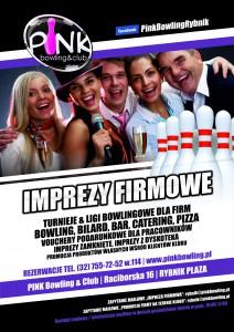 imprezy firmowe_plakat B1_pink bowling & club 2014_otwartyRBK